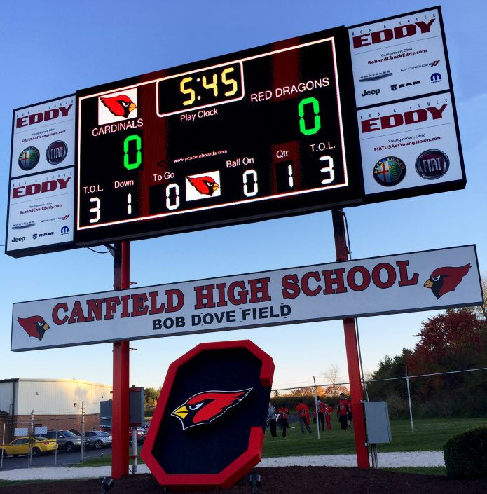 Canfield, OH | 10mm | 16' x 9' | High School Scoreboard